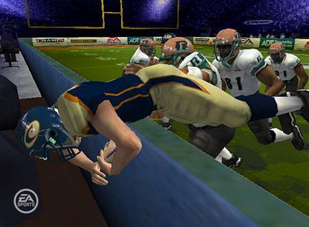 EA Sports Arena Football Screenshot