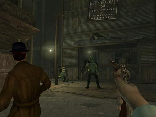 Screenshot from Call of Cthulhu: Dark Corners of the Earth