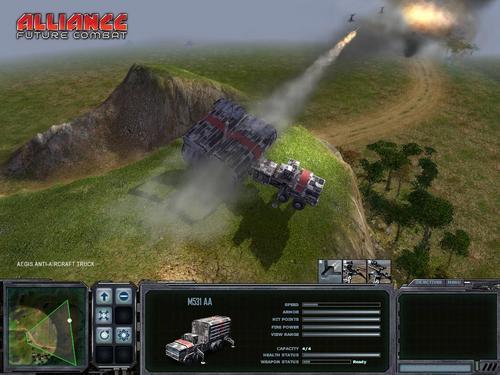 Alliance: Future Combat Screenshot