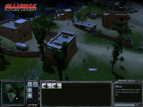 Alliance: Future Combat Screenshot