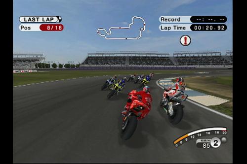 MotoGP 08 Screenshot