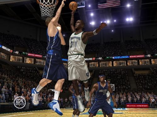 NBA Live 07 Screenshot