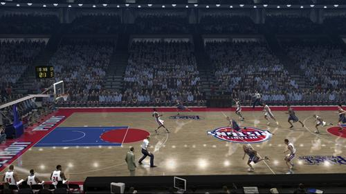 NBA Live 07 Screenshot